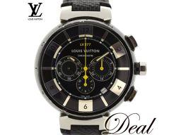 【大幅値下げ】ルイヴィトン タンブールインブラック Q114K エルプリメロ搭載 腕時計