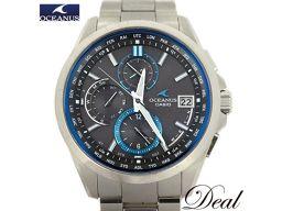カシオ オシアナス OCW-T2600 チタン 電波 ソーラー 腕時計 メンズ