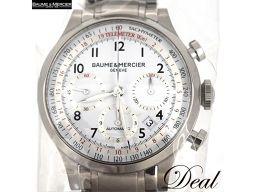 新品 ボーム&メルシェ ケープランド クロノ M0A10061 自動巻 メンズ 腕時計