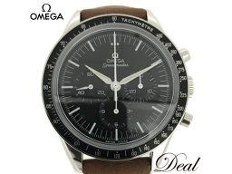 美品 オメガ スピードマスター ムーンウォッチ 311.32.40.30.01.001 50周年記念復刻モデル ファースト オメガ イン スペース 手巻 メンズ 腕時計