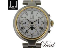 エルプリメロ搭載 ダンヒル ミレニアム クロノ トリプルカレンダー 自動巻 裏スケ メンズ 腕時計