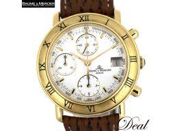 ボーム&メルシエ ボーマティック クロノ 86104 YG製 メンズ 腕時計