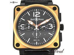 ベル&ロス アヴィエイション クロノ BR01-94-S メンズ 腕時計