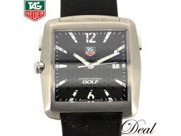 タグホイヤー プロフェッショナル ゴルフ WAE1111-0 タイガーウッズ 腕時計