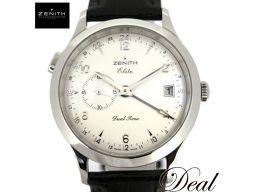 ゼニス クラス エリート デュアルタイム 03.1125.382 腕時計 美品