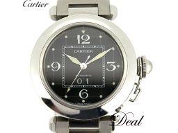 カルティエ パシャC ビッグデイト W31053M7 腕時計