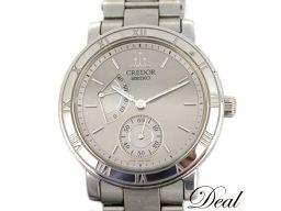 セイコー クレドール GCAY999 4S79-0020 パワーリザーブ メンズ 腕時計