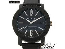 ブルガリ カーボンゴールド BB40CL メンズ 腕時計