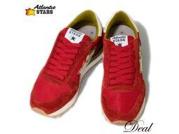 Atlantic Stars Algo Red RFS-NY-APSBO # 40 Mens Sneaker New