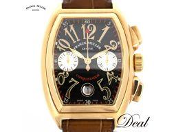 フランクミュラー コンキスタドール クロノ 8001CC PG 腕時計 メンズ