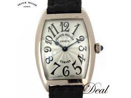 フランクミュラー トノーカーベックス 1752QZ WG製 レディース 腕時計