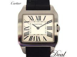 カルティエ サントスデュモンSM W2009451 WG製 腕時計