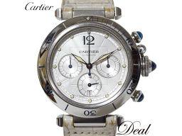 カルティエ パシャ38 クロノ W3103055 メンズ 腕時計