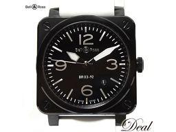 ベル&ロス アヴィエイション セラミック BR03-92BC-AL 腕時計 極美品