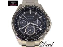 シチズン アテッサ CC9015-54E エコドライブ 電波 メンズ 腕時計