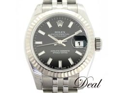ロレックス デイトジャスト 179174 WG/SS レディース 腕時計 未使用