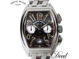 Franck Muller Conquistador Chrono Black 8002 CC watch