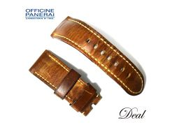 Panerai Leather Belt 26-22mm Watch Genuine Replacement Band