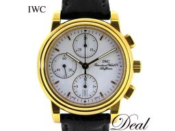 IWC Amalfi Chrono 3703 YG Men's Watch