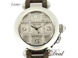 カルティエ パシャ32 ダイヤグリッド WJ111356/2529 レディース 腕時計
