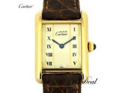 カルティエ マストタンクSM ヴェルメイユ W1003053 レディース 腕時計