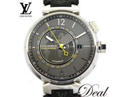 ルイヴィトン タンブール ワールドタイマー Q1055 メンズ 腕時計