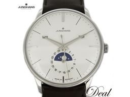 Junghans Meister Calendar 027 4200 01 Moonphase Men's Watch