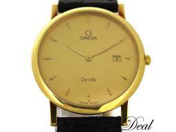 オメガ デビル 7310.11 YG製 メンズ 腕時計