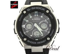 カシオ Gショック Gスチール GST-W300-1AJF 電波 腕時計 展示品