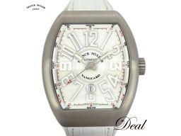 Franck Muller Vanguard V45SCDT White Men's Watch Good Condition