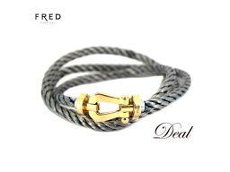 PG Fred Force 10 LM Large Triple Bracelet FRED Gray