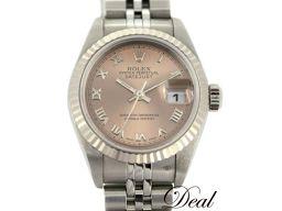 ロレックス デイトジャスト79174 WG/SS レディース 腕時計