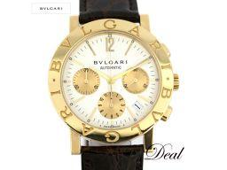 ブルガリ ブルガリブルガリ クロノ YG製 BB38GLCH メンズ 腕時計
