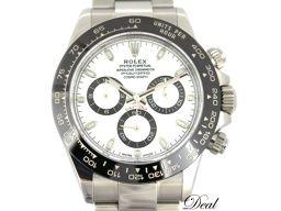 ロレックス コスモグラフ デイトナ 116500LN 白 メンズ 腕時計 ギャラ有 美品