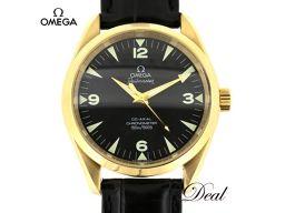 オメガ シーマスター アクアテラ レイルマスター YG製 2603.52.37 腕時計