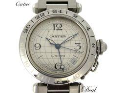 新型 カルティエ パシャC メリディアン GMT W31078M7 腕時計