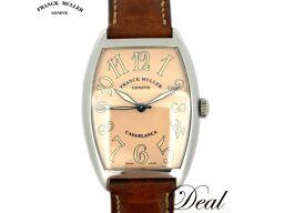 フランクミュラー カサブランカ 2852 ピンク文字盤 メンズ 腕時計