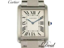カルティエ タンクソロLM W5200014 メンズ 腕時計