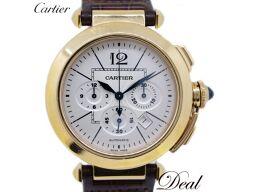 カルティエ パシャ42 クロノグラフ PG製 W3019951 メンズ 腕時計