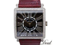 フランクミュラー マスタースクエア キング レリーフ 6000KSCDT WG製 ダイヤ 腕時計