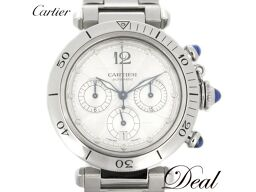 Manufacturer OH finished Cartier Pasha 38 Chrono W31030H3 Men's watch back scale