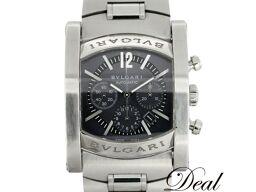 ブルガリ アショーマ クロノ AA44SCH メンズ 腕時計
