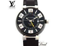 <html>    <body>   ルイヴィトン タンブール インブラック GMT Q113K メンズ 腕時計        </body> </html>