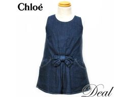 Chloe / Chloe / One Piece / Sleeveless / Denim / Kids