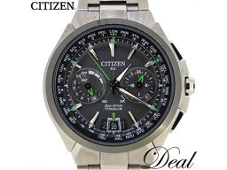 Citizen / Eco Drive / Satellite Wave / Black / Solar / CC1091-50E