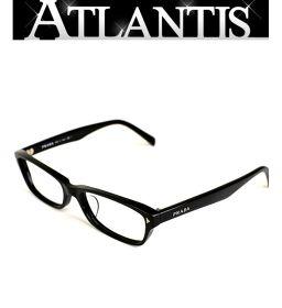 美品 プラダ メガネ フレーム 眼鏡 黒 ブラック