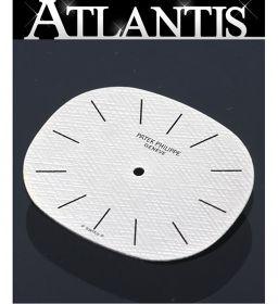 パテック・フィリップ 3745 オーバルウォッチ エリプス シルバー系 文字盤 K18 腕時計