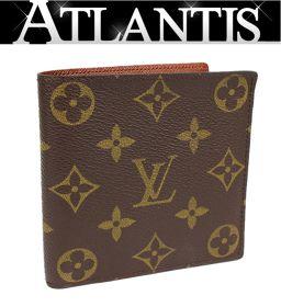 極美品 ルイヴィトン LV マルコ 二つ折り 財布 made in USA モノグラム