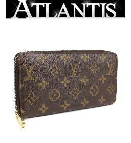 Louis Vuitton LV Zippy Wallet Long Purse Monogram