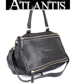 Givenchy GIVENCHY Pandora Large 2WAY Diagonal Shoulder Bag Handbag Leather Black